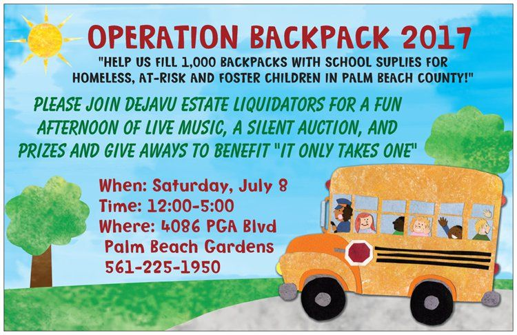 Operation Backpack 2017