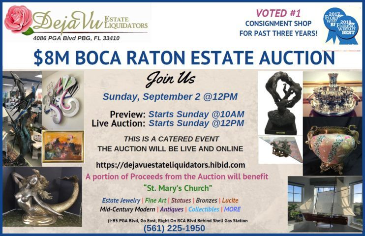 Labor Day Weekend Auction!