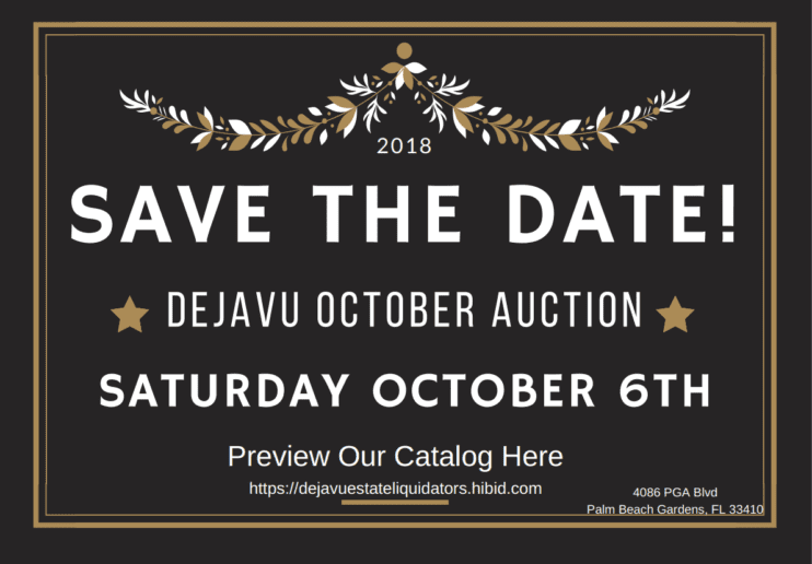 October Auction!