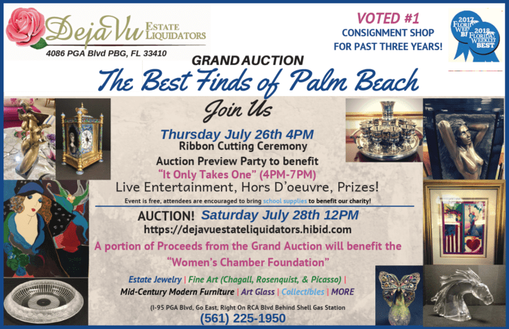 July Auction!