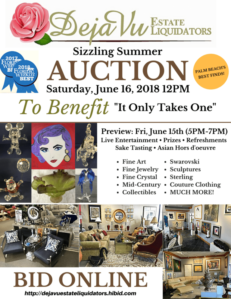 Sizzling Summer Auction!